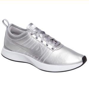 NWOB Nike Silver Sneakers Price Firm